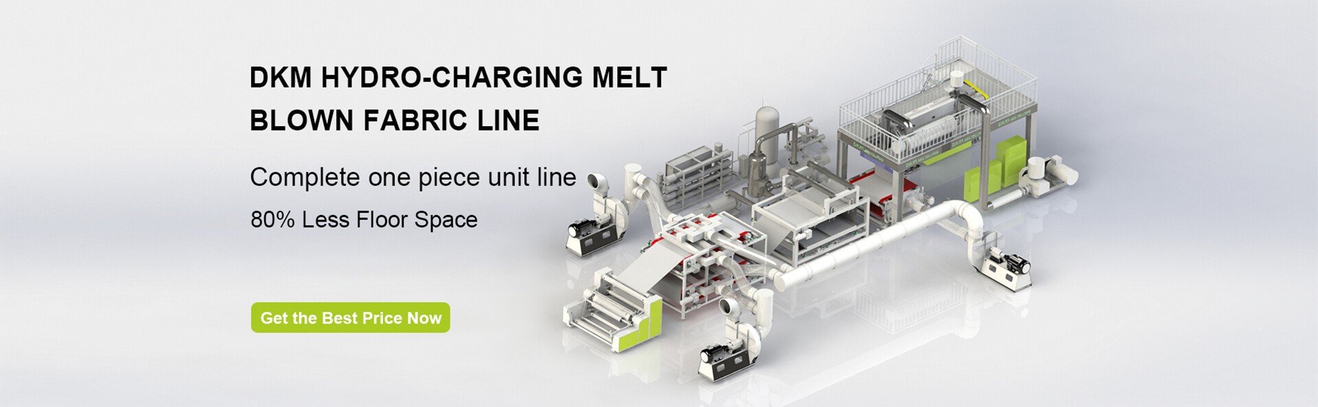 DKM Hydro-Charging Melt Blown Line
